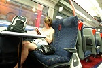 tiếng nhật giao tiếp, Tiếng nhật cơ bản 2, Bài 01: Tôi có thể đặt chỗ trên xe điện?