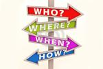 Mẫu câu hỏi cái gì, ở đâu, khi nào, làm thế nào ...